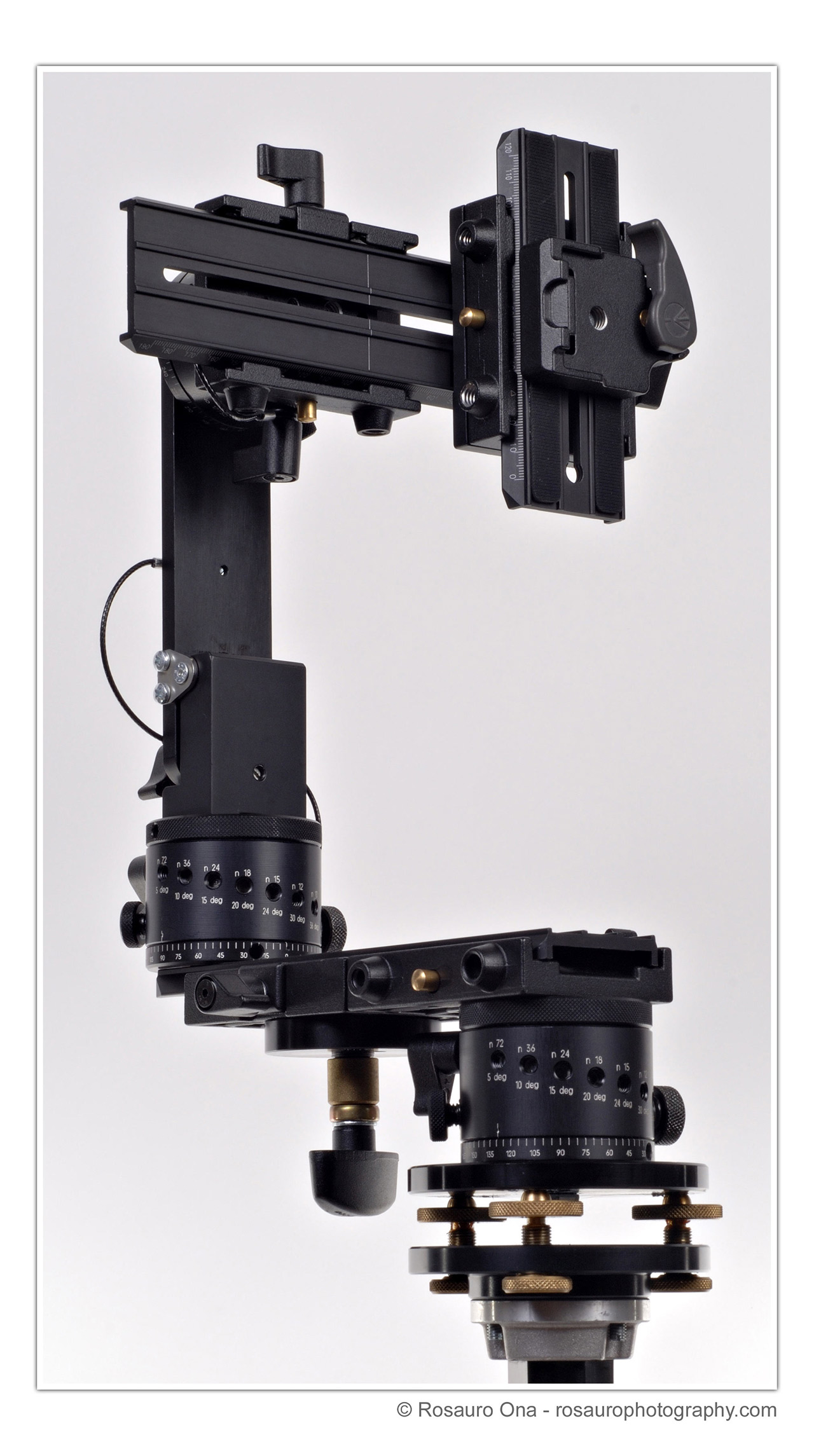 how to use manfrotto panoramic head